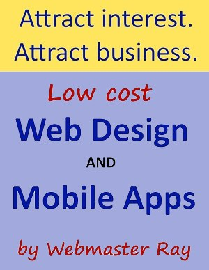 Low Cost Web Design and Mobile Apps
