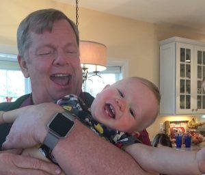 Doug Ullman & grandson