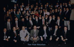 Ten year college reunion