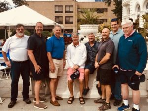 Kevin Fauvell, Bob Bennett, Mike Logan, Mark Suter, Craig Ellixson, Rich Colonna, Jim Goulden, John Rhatigan