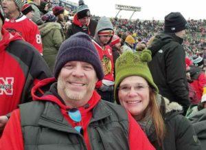 Deb & Craig Matteson at hockey game