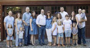 Matthew Bucherati and his family