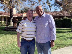 Brian Foy & Del Lewis in San Diego