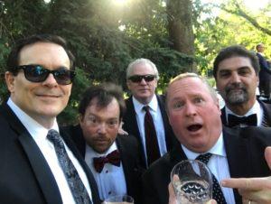 Goulden, Keane, Quern, Carbone at Cunningham wedding