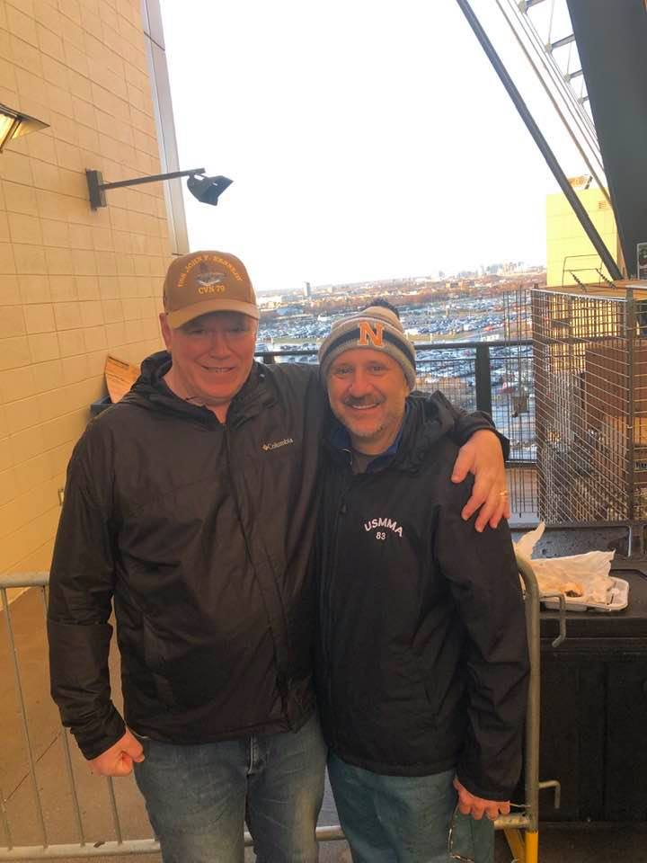 John Rhatigan & Rich Colonna at Army/Navy