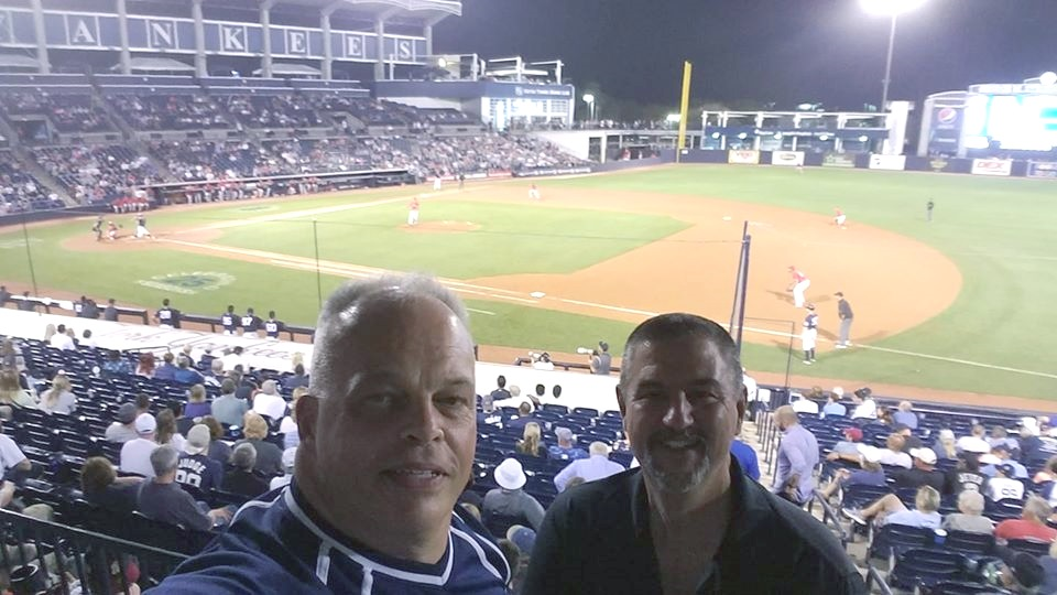 David Ferchau & Larry Migliozzi at Spring Training