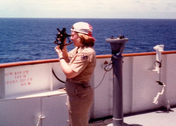 Maureen McKeever sea year