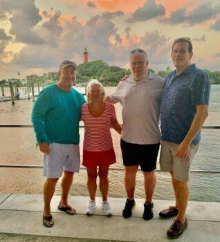 Mickey & Mary Kay Cunningham, John Rhatigan, Jim Goulden
