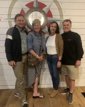 Karen & Brian Foy with Glenda & Scott O'Connor