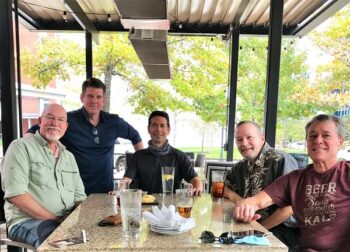 Rex Gundle, Tom Lightsey, Mike Curtiss, Mike Booth, Kurt Larsen