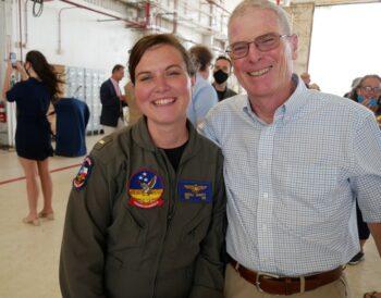 Bruce Garrott & daughter Mikaela