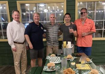 Chris Hart, AJ Murphy, Chris Cioni, Mike Curtiss & George Toma in Houston