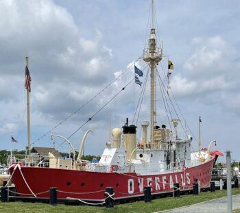 OverFalls light ship in Lewes, DE